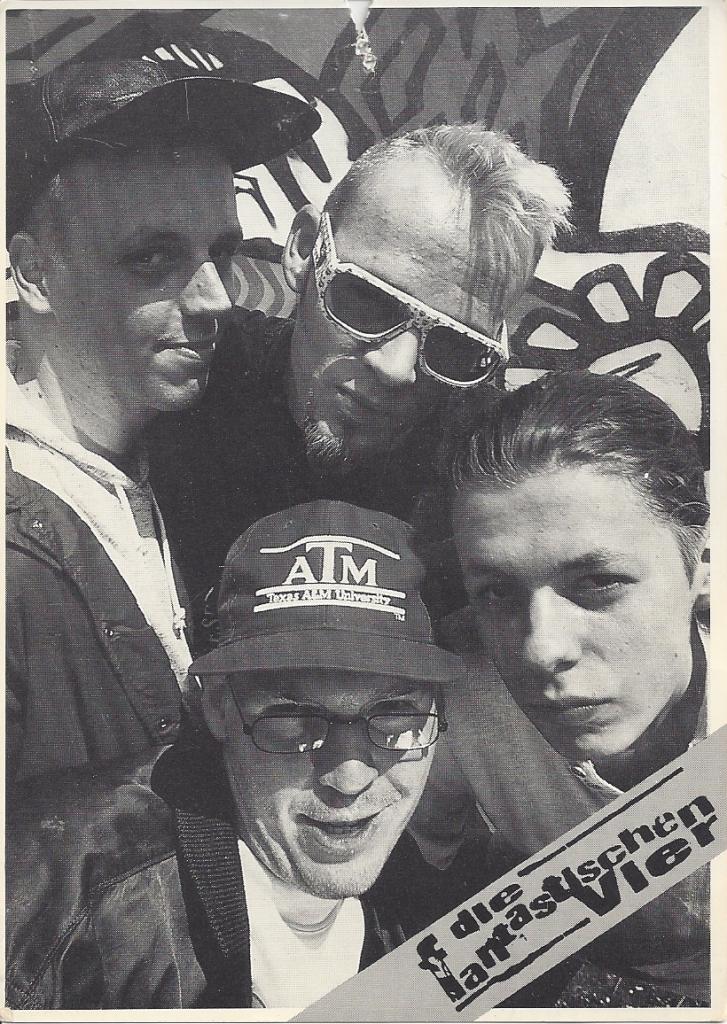 1992 Fanta 4 Autogramm vorne-3